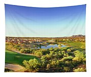 Elevated View Of Golf Course, Sun City Tapestry