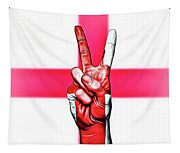 England Peace Flag Tapestry
