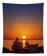Enjoying The Sunset Tapestry