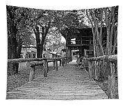 Entering Town Tapestry