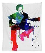 Eric Clapton Watercolor Tapestry