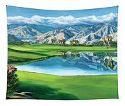Escena Golf Club Tapestry