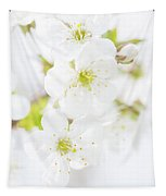 Ethereal Blossoms Tapestry