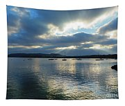 Evening On Windermere In Lake District National Park Tapestry