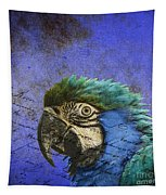 Blue Exotic Parrot- Pirates Of The Caribbean Tapestry