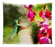 Eye On The Fuchsia Tapestry