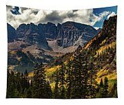 Fall At Maroon Bells Tapestry