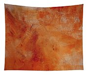 Fall Golden Hour- Abstract Art By Linda Woods Tapestry