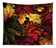 Fall Is On The Ground Tapestry