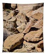 Fallen Sandstone Boulders Tapestry