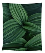 False Hellebore Plant Abstract Tapestry