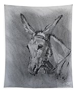 Family Mule Tapestry