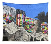 Famous Contemporary Artists Mural Tapestry