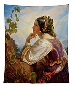 Far Away Thoughts Tapestry