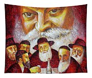 Farbrengen With The Rebbe Tapestry