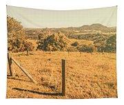 Farm Fields Of Eumundi, Sunshine Coast Tapestry