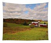 Farmland In Autumn Tapestry