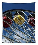 Ferris Wheel Fun Tapestry by Matthew Nelson