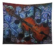 Fiddle 1 Tapestry