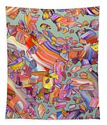 Fiesta Tapestry by James W Johnson