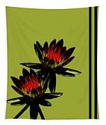 Fire Lilies Tapestry