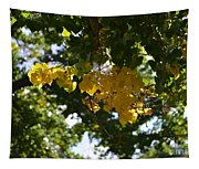 First Golden Leaves Tapestry