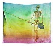 Fishing Man Tapestry