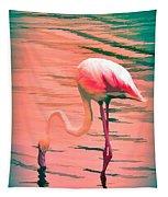 Flamingo Art Tapestry