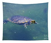 Floating Turtle Tapestry