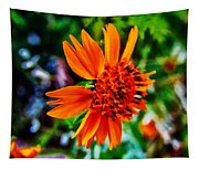 Floral Rush Hour Tapestry