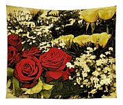 Flower Bouquet Tapestry