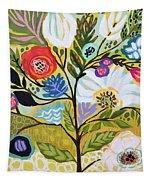 Flower Tree I    Tapestry