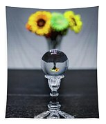 Flowers And Crystal Ball Tapestry