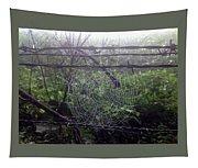 Foggy Web Tapestry