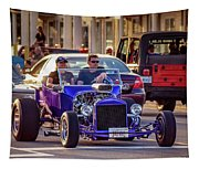 Ford T-bucket Hot Rod Tapestry