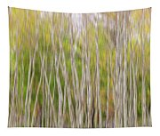 Forest Twist And Turns In Motion Tapestry