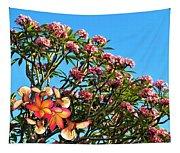 Frangipani Tree Tapestry