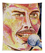 Freddie Mercury Portrait Tapestry