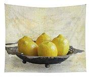 Fresh Lemons Tapestry