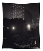 From The Back Window, 291 Ny Winter Tapestry