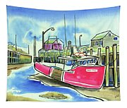 Fundy Tide Hall's Harbour Tapestry