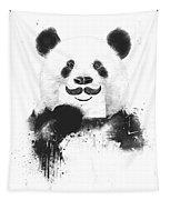 Funny Panda Tapestry