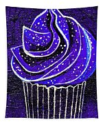 Galactic Universe Cupcake Tapestry