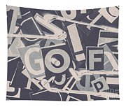 Game Of Golf Tapestry