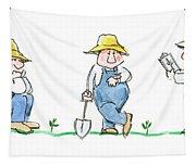 Garden Guy Tapestry