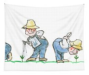 Garden Guy Planting Tapestry