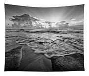 Gentle Surf Tapestry