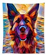 German Shepherd 8 Tapestry