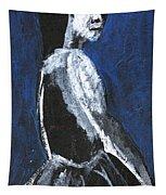 Girl In A Dress Tapestry