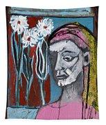 Girl In Pink Tapestry